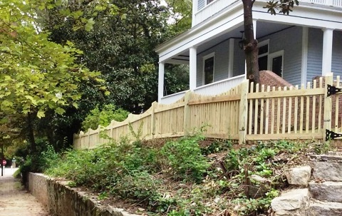 Artisan Picket Fence – Smyrna
