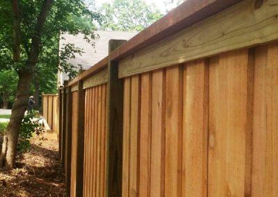 Board on Board Fences – Kennesaw