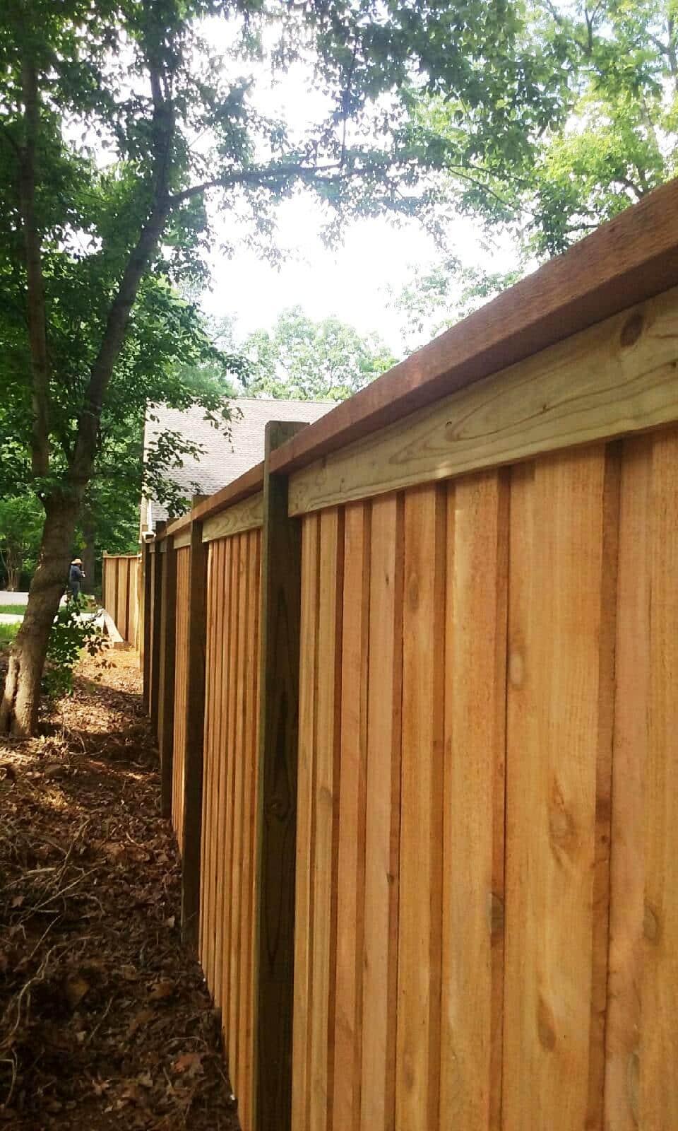 Board On Board Fences Kennesaw Apex Fence Company