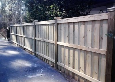 Board on Board Fences - Kennesaw