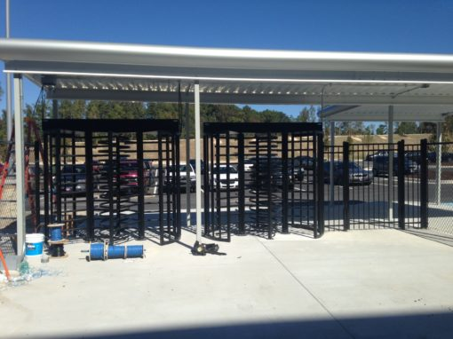 Distribution Center Fencing – Atlanta