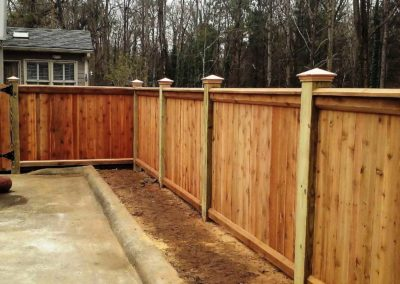 Custom Privacy Fence Atlanta
