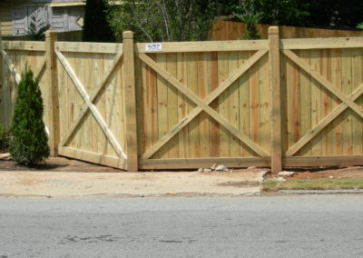 Custom privacy fence Marietta,GA (1)