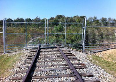 Dobbins Chain Link Fence (1)