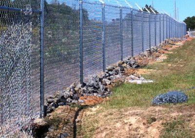 Dobbins Chain Link Fence (2)