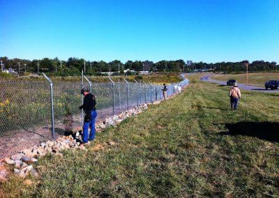 Dobbins Chain Link Fence (4)