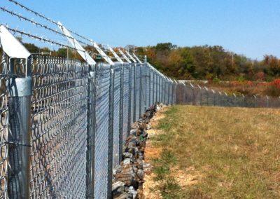 Dobbins Chain Link Fence (5)