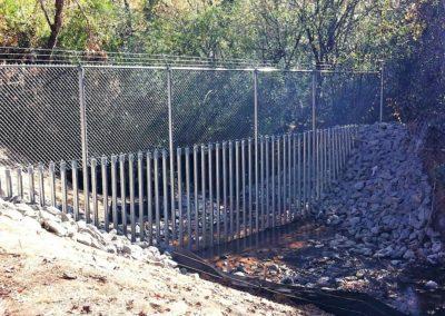 Dobbins Chain Link Fence (6)
