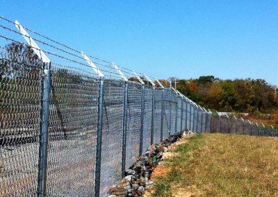 Dobbins Chain Link Fence (8)