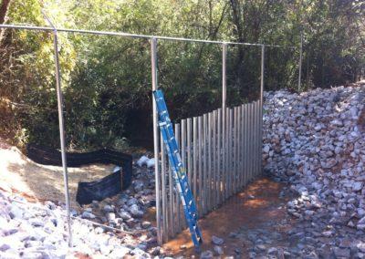 Dobbins Creek Crossing Security Fencing (1)