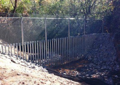 Dobbins Creek Crossing Security Fencing (5)