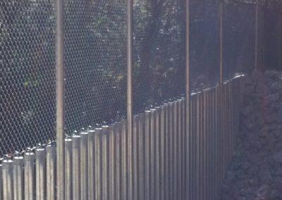 Dobbins Creek Crossing Security Fencing (7)
