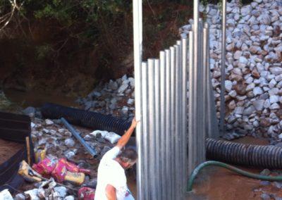 Dobbins Creek Crossing Security Fencing (8)