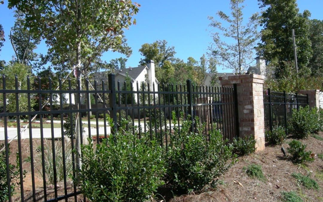Residential Aluminum Metal Fencing – John's Creek