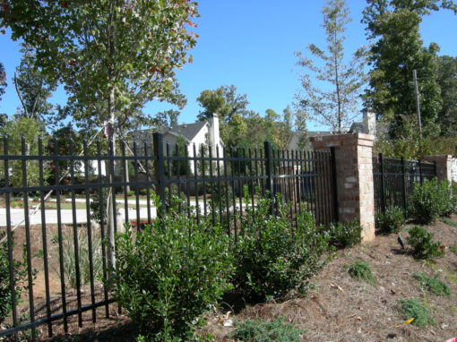 Residential Aluminum Metal Fencing – John's Creek