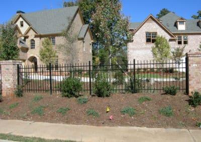 Residential Aluminum Metal Fencing - John's Creek