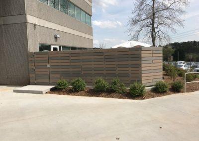 commercial fence installation atlanta