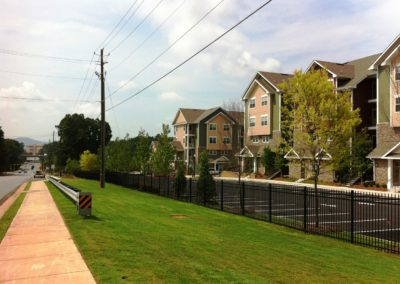 Kennesaw State University Perimeter Fencing (1)