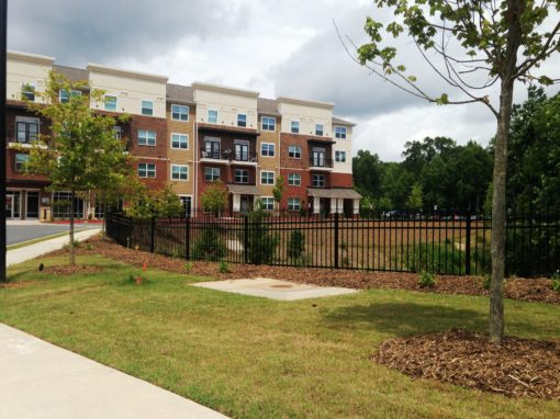 Student Housing Metal Fencing – Kennesaw
