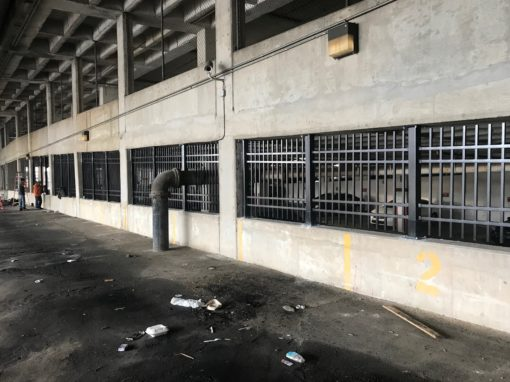Parking Deck Fencing – Atlanta