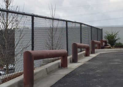 Barrier Fencing for Mercedes - Marietta