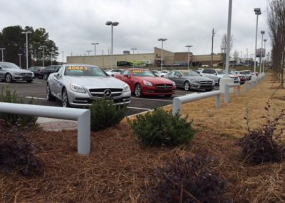 car dealer barrier fence (2)