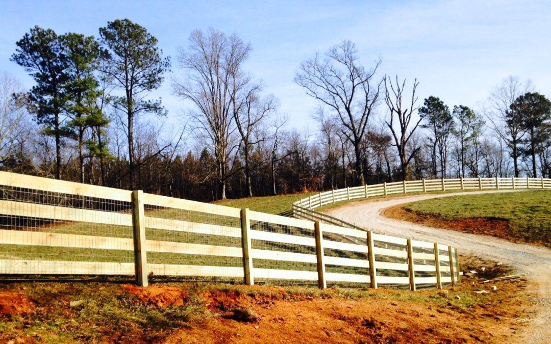 Ranch Rail Horse Fencing – Alpharetta, Milton, John's Creek