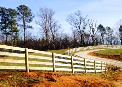 Ranch Rail Horse Fencing Atlanta