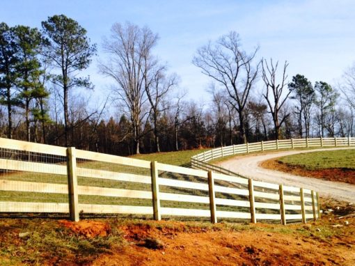 Ranch Rail Horse Fencing – Alpharetta, Milton, John's Creek