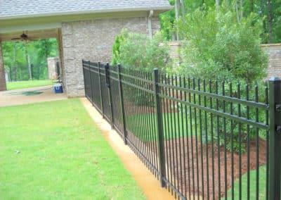 Decorative Steel Fence - Alpharetta