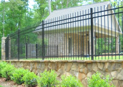 Decorative Steel Fence – Alpharetta