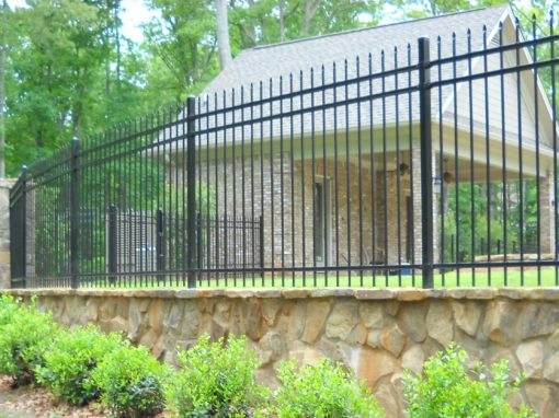 Decorative Steel Fence – Alpharetta