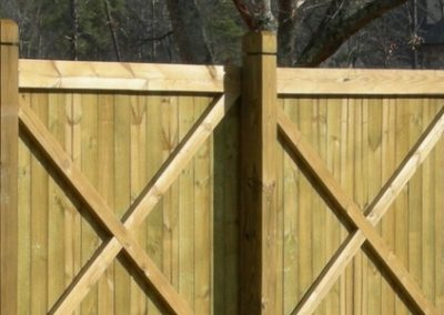 Privacy Fence - Residential