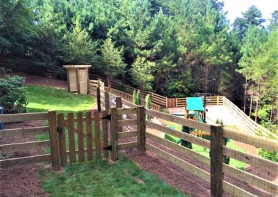 Ranch Rail - With Gate