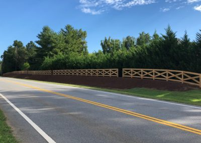 road view of ranch rail fence atlanta