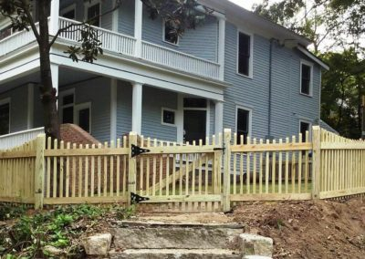 Picket Fence - Straight View