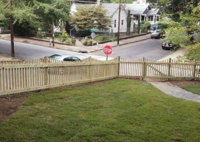 Picket Fence - View from the Porch