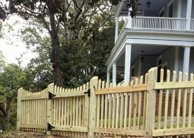 artisan picket fence